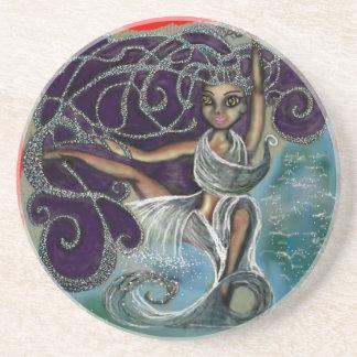 Margarita wrapped in the Eternal Waters Drink Coasters
