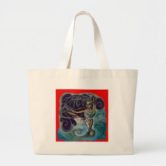 Margarita wrapped in the Eternal Waters Large Tote Bag