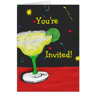 Margarita You're Invited Card