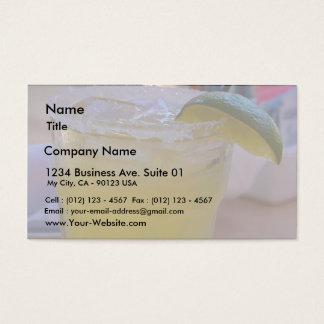 Margaritas Ice Drinks Business Card