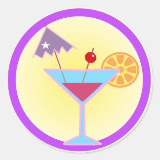 Margaritas Sticker Rond