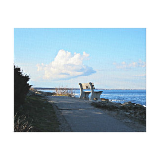 Marginal Way, Ogunquit, Maine Canvas Print