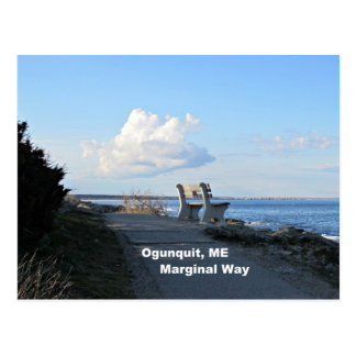 Marginal Way, Ogunquit, Maine Postcard