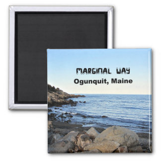 Marginal Way, Ogunquit, Maine Square Magnet