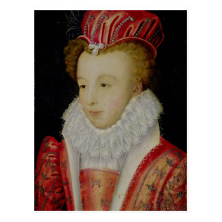 Marguerite de Valois  c.1572 Postcard