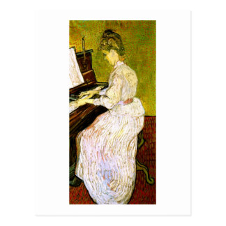 Marguerite Gachet at the Piano, Vincent van Gogh Postcard