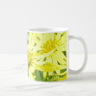 Marguerites jaune citron tasse à café