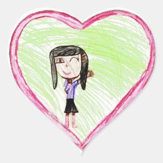 Mari: Heart Sticker