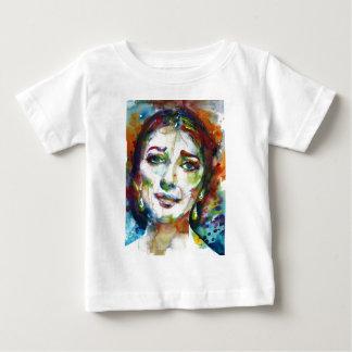 MARIA CALLAS - watercolor portrait.2 Baby T-Shirt