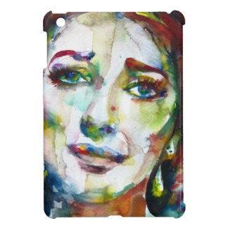 MARIA CALLAS - watercolor portrait.2 iPad Mini Case