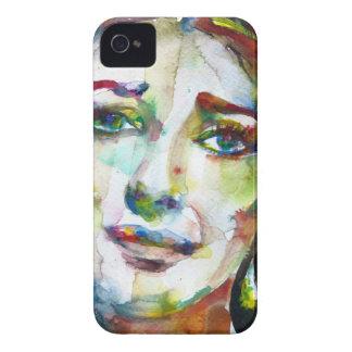 MARIA CALLAS - watercolor portrait.2 iPhone 4 Case-Mate Case