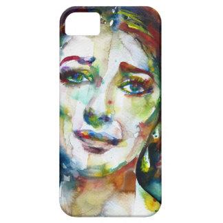 MARIA CALLAS - watercolor portrait.2 iPhone 5 Case