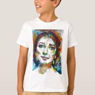 MARIA CALLAS - watercolor portrait.2 T-Shirt