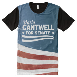 Maria Cantwell All-Over-Print T-Shirt