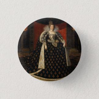 Maria de' Medici 1 Inch Round Button