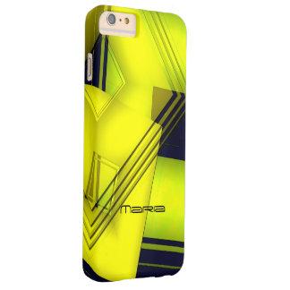 Maria geometric yellow iPhone 6 Plus case
