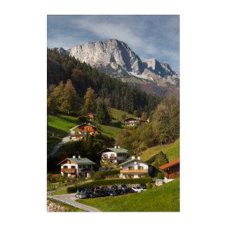 Maria Gern Village, Bavaria Acrylic Print