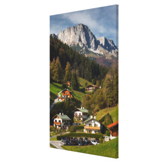 Maria Gern Village, Bavaria Canvas Print
