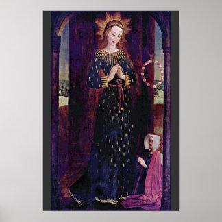 Maria In Ahrenkleid By Funhof Hinrik Poster