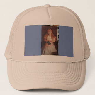 maria,s   artwork trucker hat