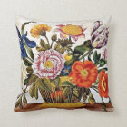 Maria Sibylla Merian - From Der Raupen Wunderbare Throw Pillow