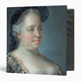 Maria Theresa, Empress of Austria, 1762 Vinyl Binders