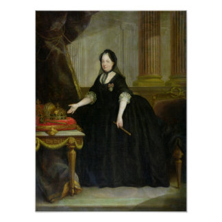 Maria Theresa  Empress of Austria Poster