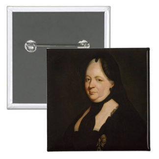 Maria Theresa in mourning 2 Inch Square Button