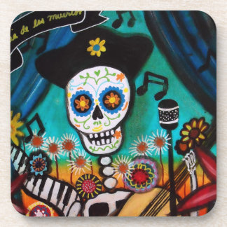 Mariachi Day of the Dead Coasters