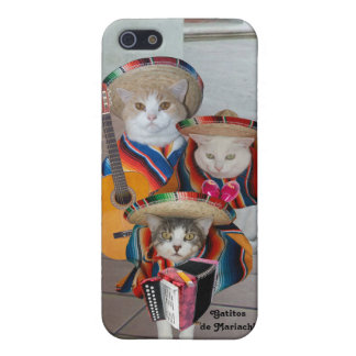 Mariachi Kitties/Gatitos de Mariachi iPhone 5 Cover