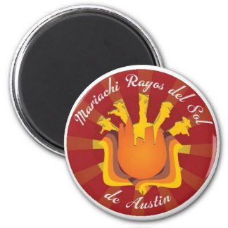 Mariachi Rayos de Sol de Austin Refrigerator Magnets
