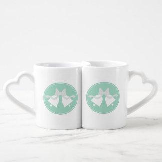 Mariage Bells assortissant des tasses de jeunes ma Tasses Duo