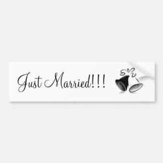 Mariage Bells Autocollant De Voiture