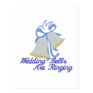 Mariage Bells de sonnerie Cartes Postales