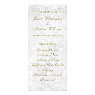 Mariage Bells et cannelures de Champagne épousant Carte Double En Couleur