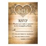 mariage campagnard en bois rustique RSVP Bristol