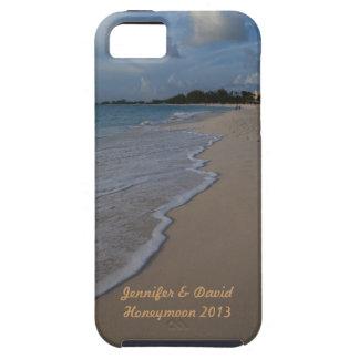 Mariage de plage tropical d'île coque iPhone 5