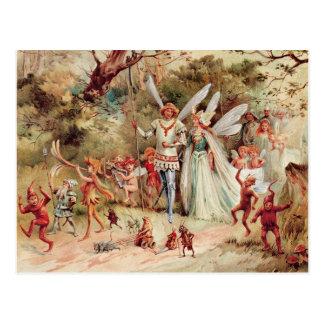 Mariage féerique cartes postales