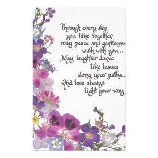 Anniversaire de mariage papier lettre papier lettre anniversaire de mari - Papier cadeau personnalisable ...