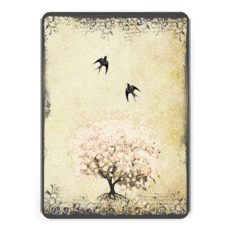 Mariage romantique d inséparable d arbre de rose d