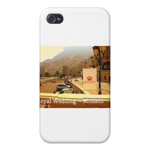 Mariage royal - Monaco Coque iPhone 4/4S
