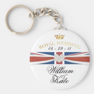 Mariage royal - prince William et objet de collect Porte-clefs