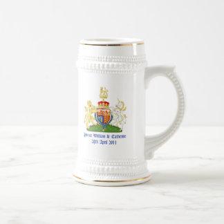 Mariage royal chope à bière