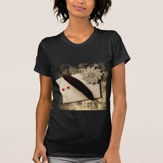 Mariage vintage de RusticDaisy LoveLetter T-shirt