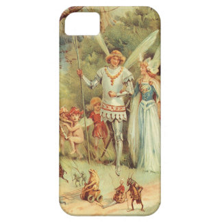 Mariage vintage de Thumbelina et de prince Coque Barely There iPhone 5
