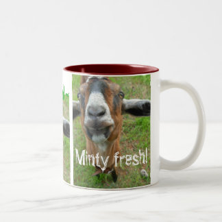 Mariah the Goat - Minty fresh mug