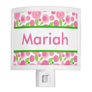 Mariah's Personalized Rose Nightlight Night Lights