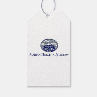 Marian Heights Academy Logo Gift Tags