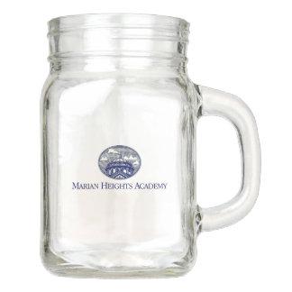Marian Heights Academy Logo Mason Jar