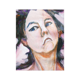 Maria's Head Canvas Print